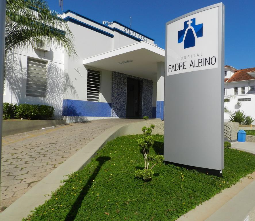 O Hospital Padre Albino é uma das unidades beneficiadas com a doação de energia.
